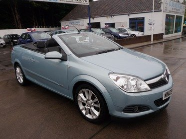 Vauxhall Astra 1.8I 16V VVT TWIN TOP DESIGN