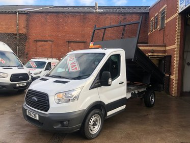 Ford Transit 350  Single cab Tipper 125ps No VAT