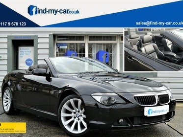 BMW 6 SERIES 630i SPORT Convertible