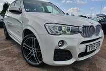 BMW X3 3.0 XDRIVE 30d M SPORT STEP PANORAMIC ROOF