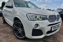 BMW X3 3.0 XDRIVE 30d M SPORT STEP PANORAMIC ROOF