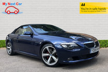 BMW 6 SERIES 630i SPORT WELL MAINTAINED CAR GENUINE LOW MILES