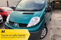 Renault Trafic SL27 DEBUT DCI S/R P/V FSH SPARE KEYS ONLY 59,000 STUNNING EXAMPLE PX WELCOME FINANCE OPTIONS AVAILABLE NO VAT !!!