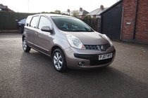 Nissan Note SE RARE AUTO ! FULL SERVICE HISOTRY ! 12 MONTHS MOT !