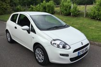 Fiat Punto POP PLUS FULL SERVICE HISTORY AIR CONDITIONING AND BLUETOOTH