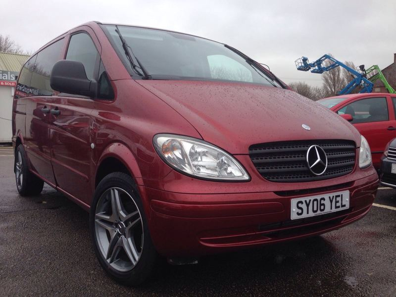 Mercedes Vito 111 Cdi Long Traveliner Amg Wheels Swb 8 Seater No Vat