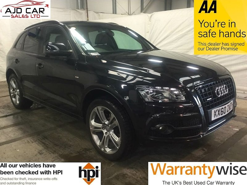 Audi Q TDI Quattro S Line Special Ed PS AJD Car Sales Ltd - Audi car sales