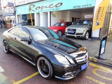 Mercedes E Class E350 CDI BLUEEFFICIENCY SPORT COUPE, STUNNING !