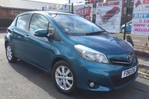 Toyota Yaris 1.3 VVT-I T SPIRIT 5DR **LOW WARRANTED 31,272 MILES **FULL GLASS PANORAMIC ROOF **REVERSE CAMERA **SAT NAV ***MAIN DEALER HIST