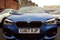 BMW 1 SERIES 2.0 118D M SPORT 150 6SP SAT NAV