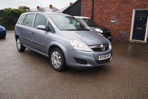 Vauxhall Zafira 16V LIFE FULL SERVICE HISTORY ! ONLY 55,391 MILES ! 1 FORMER OWNER ! AIRCON !