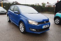 Volkswagen Polo 1.6 TDI 90 PS SEL VW SERVICE HISTORY ! GR8 SPEC ! £30 YEAR TAX ! 99% FINANCE APPROVAL !
