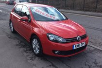 Volkswagen Golf MATCH TDI BLUEMOTIONTECHNOLOGY BUY NO DEP £36 A WEEK T&C APPLY