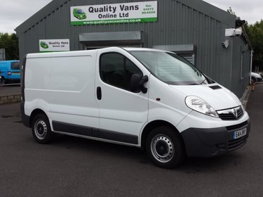 Vauxhall Vivaro 2700 Cdti VAN *AIR CON* Ex. National Grid.