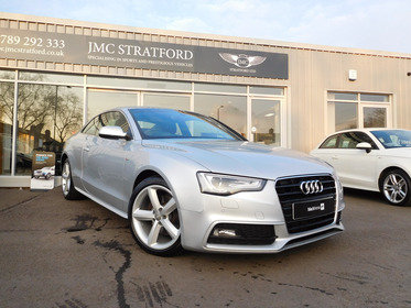 Audi A5 2.0 TFSI S LINE 211PS LOW RATE FINANCE OF 6.9 %APR REPRESENTATIVE