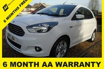 Ford Ka ZETEC 6 MONTH AA WARRANTY-12 MONTH MOT-12 MONTH AA COVER-12 MONTH FULL SERVICE