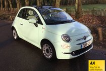 Fiat 500 LOUNGE ONE OWNER FULL MAIN DEALER SERVICE HISTORY AIR CONDITIONING AND BLUETOOTH