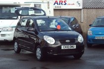 Kia Picanto 1 1.0 63,000 MILES  LOW INSURANCE £30 TAX IDEAL FIRST CAR