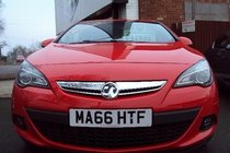 Vauxhall Astra GTC 1.4T SRI 140 6SP AUTOMATIC