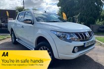 Mitsubishi L200 DI-D 4WD BARBARIAN DOUBLECAB AUTOMATIC + MOUNTAIN TOP/ SAT NAV/CAMERA / EU6 +++