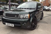 Land Rover Range Rover Sport TDV6 HSE RARE BRITISH GREEN WITH A FULL LAND ROVER SERVICE LOG.