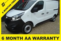 Vauxhall Vivaro 2700 L1H1 CDTI P/V 6 MONTH WARRANTY-12 MONTH MOT-12 MONTH AA COVER-12 MONTH FULL SERVICE
