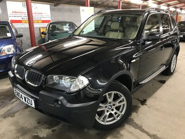 BMW X3 2.5i SE