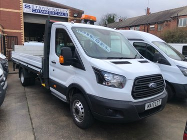Ford Transit 350 L5 Drop Side Pick up with Tail lift Euro 6 130ps