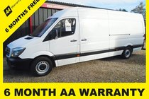 Mercedes Sprinter 313 CDI  6 MONTH WARRANTY-12 MONTH MOT-12 MONTH AA COVER-12 MONTH FULL SERVICE