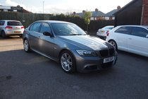 BMW 3 SERIES 320d M Sport FULL BLACK LEATHER ! 99% FINANCE APPROVAL !