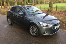 Mazda 2 SPORT NAV FULL MAZDA SERVICE HISTORY, SATNAV AND BLUETOOTH