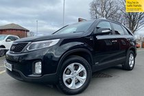 Kia Sorento CRDI KX-2 used car in black
