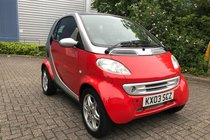 Smart City Coupe SMART&PASSION SOFTTOUCH (RHD)