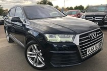 Audi Q7 3.0 TDI 272 QUATTRO S LINE (PANORAMIC ROOF) 7 SEATS