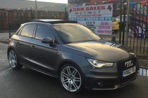 Audi A1 1.4 TFSI S LINE 185 S TRONIC AUTO 5DR **LOW 22,986 MILES **LADY OWNED FROM NEW **OPEN SKY PAN ROOF **HEATED SEATS **PX WELCOME