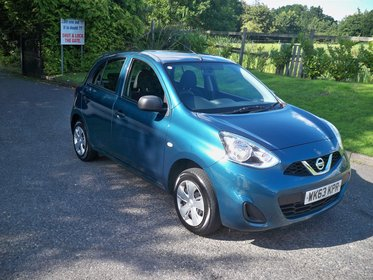 Nissan Micra 1.2 VISIA FULL SERVICE HISTORY BLUETOOTH AND AIR CONDITIONING