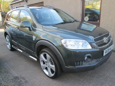 Chevrolet Captiva LT 2.0 VCDI 4WD 7 SEAT - MOT 17/02/18, SERVICED, 3 MONTHS WARRANTY AND 12 MONTHS AA COVER INCLUDED -
