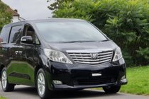 Toyota Alphard 3.5 V6 LUXURY EDITION 7 BUSINESS CLASS PLANE SEATS+HEATED LEATHER+DVD+PARKING CAMERAS+18 SPEAKERS THEATER SOUND+6 SPEED AUTO