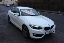 BMW 2 SERIES 218d SPORT BUY NO DEP & £64 A WEEK T&C APPLY