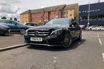 Mercedes C Class C250 D AMG LINE PREMIUM.PanRoof/RevCam/SatNav/Leather