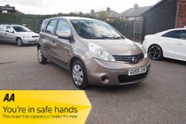 Nissan Note VISIA SERVICE HISTORY ! RARE AUTO ! 12 MONTHS MOT !