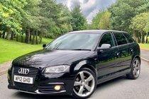 Audi A3 SPORTBACK 2.0 TDI S LINE BLACK EDITION 170BHP 5DR