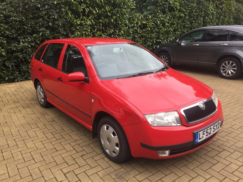 skoda fabia 1 9 tdi comfort good value cars. Black Bedroom Furniture Sets. Home Design Ideas