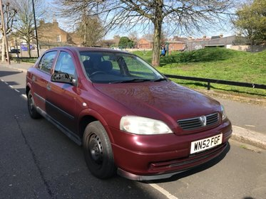 Vauxhall Astra ENVOY AUTOMATIC LOW MILEAGE