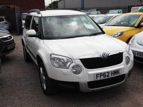Skoda Yeti 2.0 TDI CR DPF SE PLUS 4WD 170PS