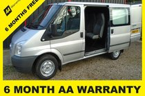 Ford Transit 260 TREND 6 SEATER CREW VAN=6 MONTH AA WARRANTY=12 MONTH MOT=12 MONTH SERVICE=12 MONTH AA COVER