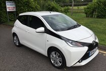 Toyota AYGO VVT-I X-PRESSION FULL SERVICE HISTORY, AIR CONDITIONING, BLUETOOTH AND REVERSING CAMERA