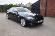 BMW 5 SERIES 530d SE FULL SERVICE HISTORY ! HTD LEATHER ! SAT NAV PHONE ! 99% FINANCE APPROVAL !