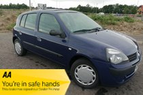 Renault Clio EXPRESSION 16V 5 Door Air Con 90k Miles NEW MOT