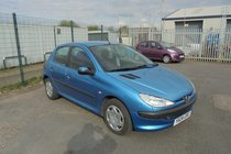 Peugeot 206 STYLE - 79000 MILES - MOT UNTIL JAN 2021